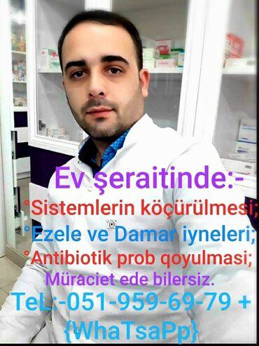 saray heyet ev - Azərbaycan: Ev weraitinde Tibbi yardim.Baki