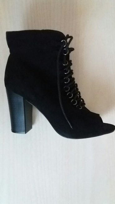 Carape sa prstima - Srbija: Nove plisane duboke sandale sa otvorenim prstima. 37 br
