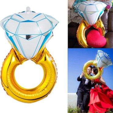 фольгированные сердца звезды в Кыргызстан: Шарик кольцо,фольгированный кольцо,шарик кольцо для предложений руки,д
