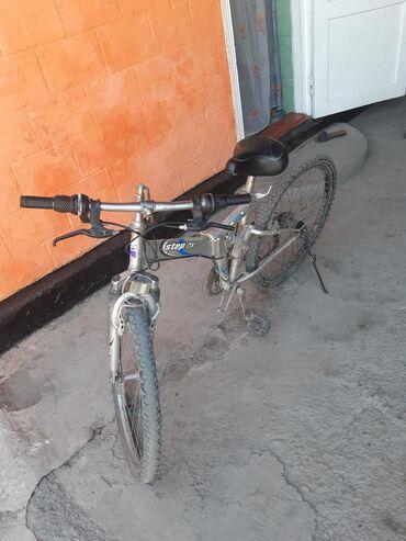 Спорт и хобби - Новопавловка: Срочно продаю корейский скоростной велосипед цена 4000просим