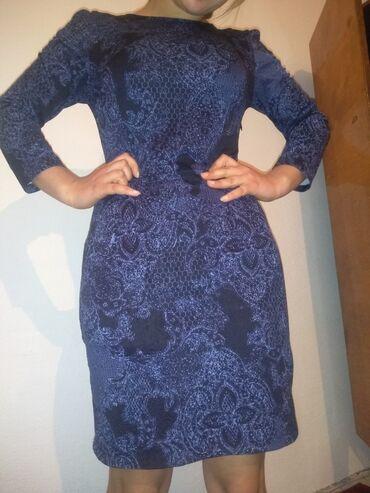 прямое платье красиво в Кыргызстан: Почти даром б/у платье 44-46размер очень красиво сидит на фигуре