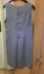 Nova haljina bez rukava sive boje, dužina haljine je 100cm, širina - Beograd