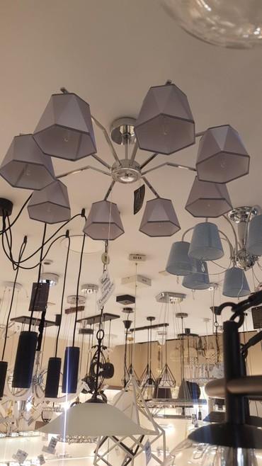 пояльные лампы в Кыргызстан: Люстра 8 ламп