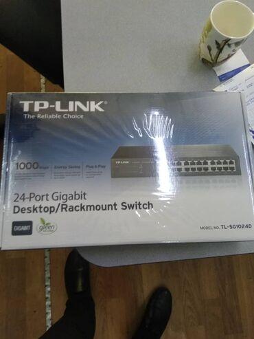 Продаю свитчи TP-LINK 16 и 24 портовые гигабитеые