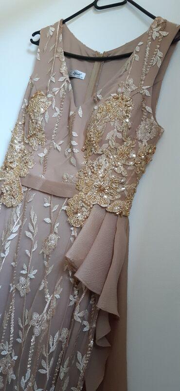 Krem haljina, savršena