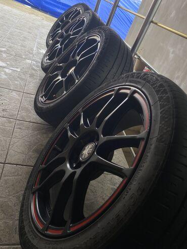 Bmw x5 3 0i mt - Srbija: Felne i gume 5x112225/45/R17Može za audi,BMW,škoda,golf,pasat Cena