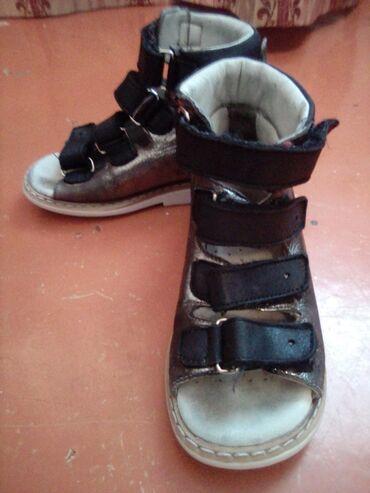Детский мир - Шопоков: Детские ортопедические сандали 26 размер фирмы минимен