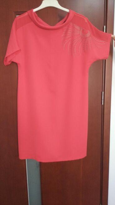 купить длинное платье в горошек в Кыргызстан: Платье женское размер 48-50 Турция, качество отличное одевала пару р
