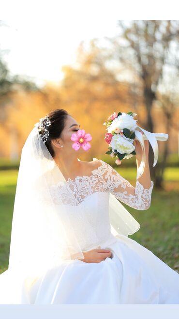 Продаю красивое, шикарное, супер качественное свадебное платье! Цвет