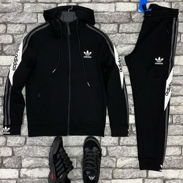 спортивные леггинсы в Кыргызстан: Оптом мужские брендовые спортивки ( производство турция, пекин)