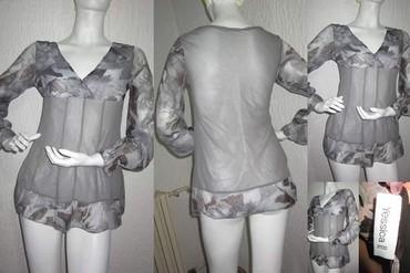 Odlicna sivo ljubicasta tunika sa providnim rukavima - Novi Sad