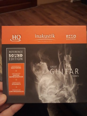 HiQuality CD, INAKUSTIK Guitar, Reference Sound Edition, RESO MASTERIN - Beograd