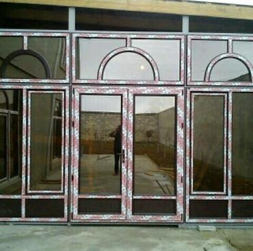 Bakı şəhərində Plastik qapı pencerelerin sifarişi
