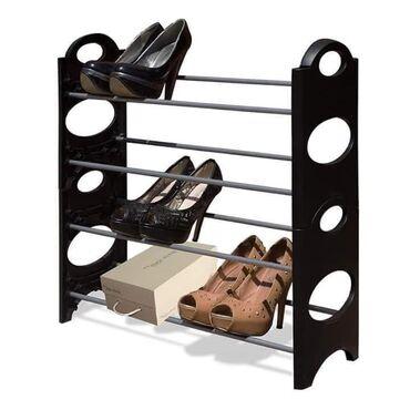 Kuća i bašta   Novi Knezevac: Cipelarnik za Vašu obuću na 4 nivoaImate veliki broj cipela, a nemate