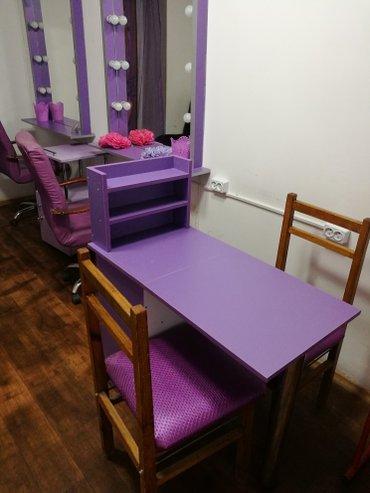 Сдается кушетка для наращивания ресниц или татуажа, маникюрный стол в  в Лебединовка