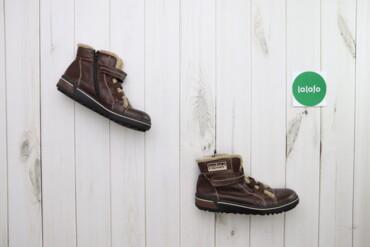 Жіночі зимові черевики Rieker на липучці    Довжина підошви: 28 см  Ст