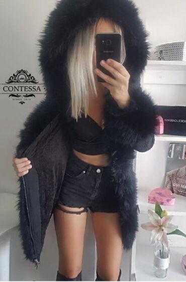 Zimske jakne sa krznom - Srbija: Savršena zimska jakna Mnogo plaćena sa pravim bogatim krznom M