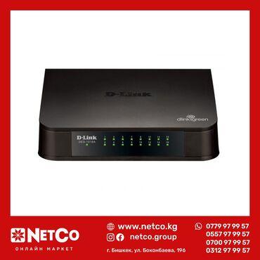Коммутатор D-Link DES-1024A/E1BDES-1024A с 24 портами 10/100 Мбит/с