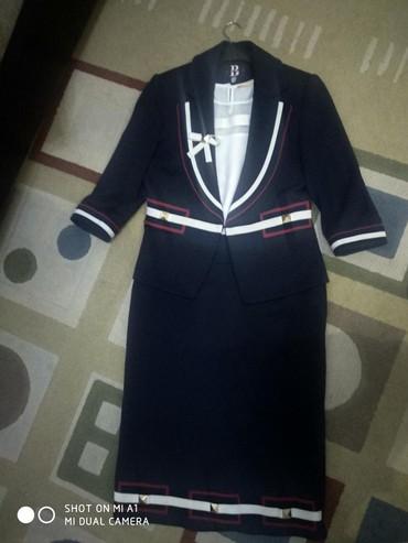 Туфли один раз одеты - Кыргызстан: Костюм тройка,турецкое,одет один раз,размер на турец42на