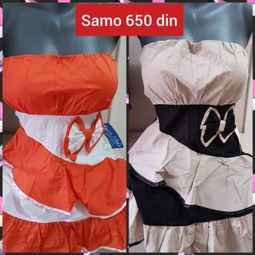 Haljinice po ceni od samo 650 din . Pogledajte i ostale oglase. Naša - Kikinda