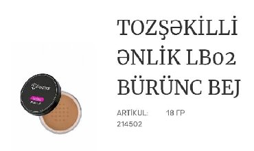 Kosmetika - Xırdalan: Zerif ipek teksturali enlik deriye ideal sekilde cekilir ve almaciq