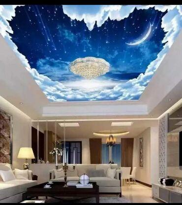 Услуги - Ивановка: Натяжные потолки | Глянцевые, Матовые, 3D потолки
