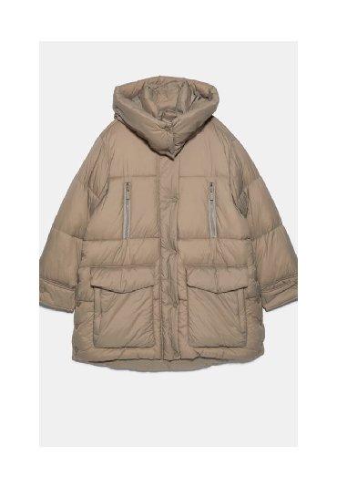 Куртки - Кыргызстан: Скидки️Куртка Зара оригинал. Цена со скидкой! Размер оверсайз. Подойдё