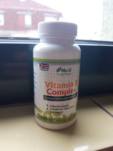 Complex vitamina B - 180 tableta