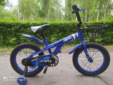 велосипед-3-в-1 в Кыргызстан: От 3х до 7 ми лет. Катались 2 раза по 10 мин. Состояние отличное