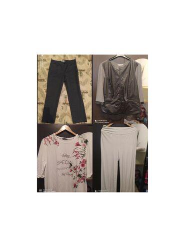 Блузки и брюки больших размеров на 52-54 размер. Фирменные. Состояние