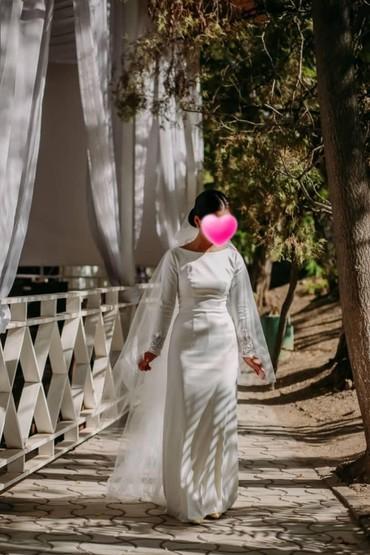 platja dlja 9 10 let в Кыргызстан: Продается свадебное платье, сшитое на заказ из качественного
