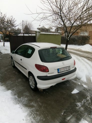 Pezo 206 1. 4 hdi 2004. God. Klima letnje gume air bag abs centralna b - Sid