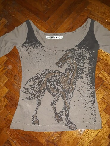 Ordo bluza za tell icine oko - Srbija: Mango bluza, tanja majica sa 3/4 rukavima. Siri izrez oko vrata