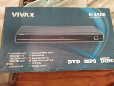 Vivax - Srbija: Vivax K-4300 DVD Pleyer u odlicnom stanju bez ogrebotine dolazi sa