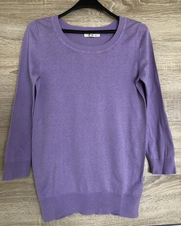 Lila džemper sa 3/4 rukavima, Forever21, vel. M