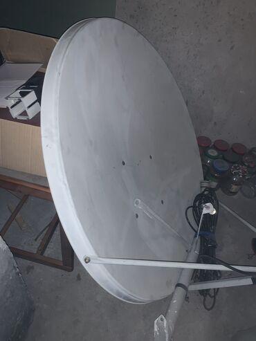 Спутниковая тарелка  Антенна  окончательно !