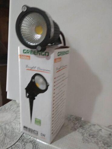 Светодиодная прожектор фирменный новый Турция фирма гринго 5 W