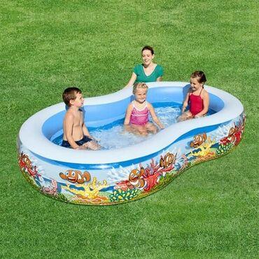 Veliki bazenDimenzije 2.62m x 1.57m x 46cm4.300rsdBazen je izdržljiv i