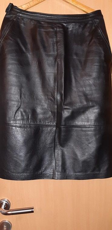 Kozna-suknja-m - Srbija: Crna kozna suknja