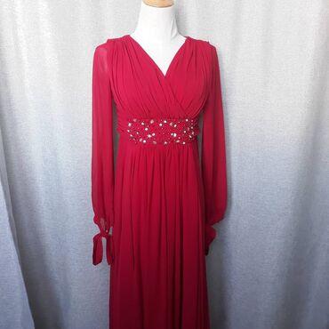 Платья - Кыргызстан: Изумительно красивое платье. Цвет красный, размер 42-44. Подходит на