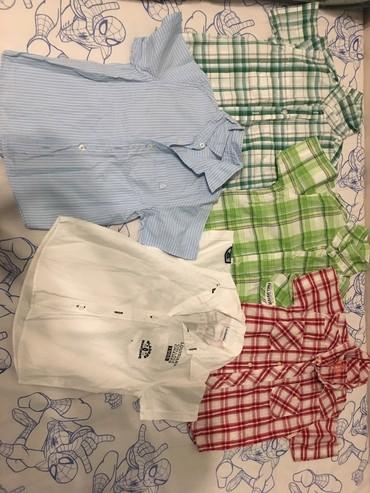 Dečija odeća i obuća - Nis: Kosuljice za decaka, kratkih i dugih rukavaVelicine ima od 1 do 5 god