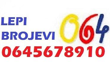 Akcija - akcija - lepi brojevi za mobilne telefone  - Beograd