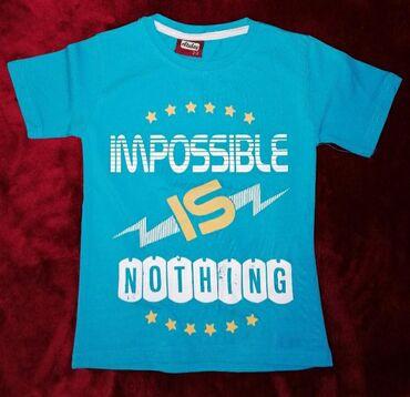 Pamučne majice za dečake, veličine 2 i 3