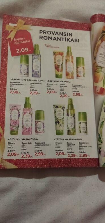 Faberlic kosmetik mehsullari