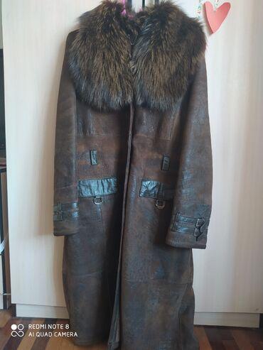 женская пальто в Кыргызстан: Продаю дублёнку турецкую, б/у, в хорошем состоянии, L-XLШикарный