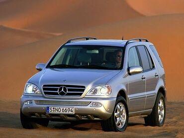 mersedes ml - Azərbaycan: Mercedes Benz ML class 1997-2005 W163 üçün arxa maqnit pərdələr