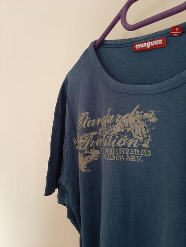 Zenska majica MANGUNN. Vel L. Teget plave boje