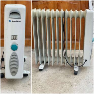 Demirdokum firmasinin 12 seksiyali radiatoru. Az islenib defekt