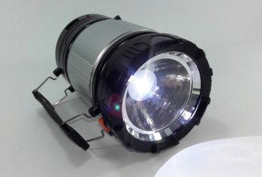 Rasveta | Bela Palanka: 2u1 – Crna Kamp lampa + Baterijska lampaPredstavljamo Vam novi