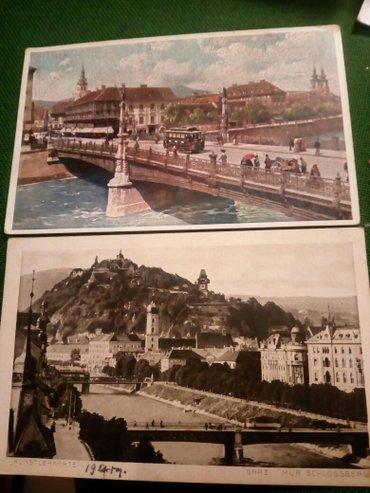 Graz,dve razglednice,1920g - Beograd